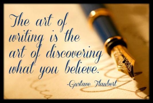 Writing-Flaubert