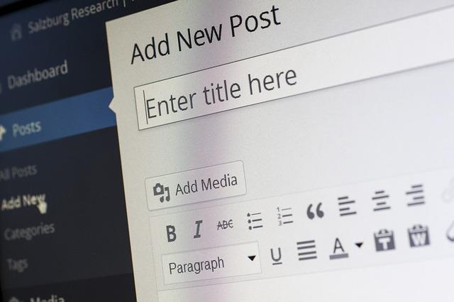 wordpress-blogging